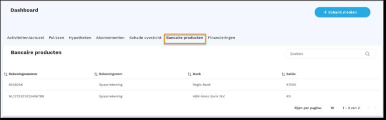 bancaire producten site
