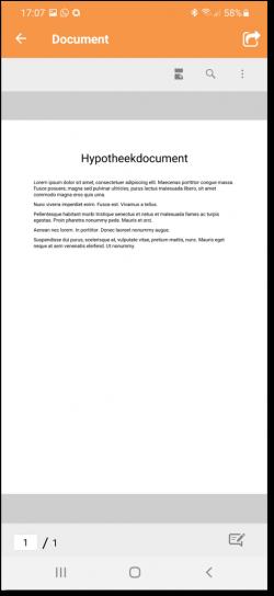 document openen
